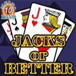 Jacks or Better (10 Hands)